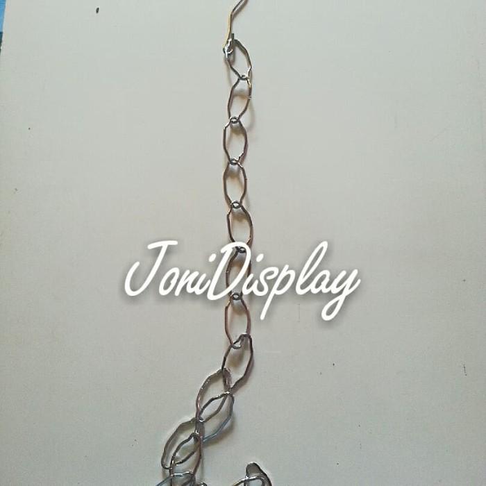 Foto Produk Rantai Besi / Gantungan Rantai Besi dari jonidisplay