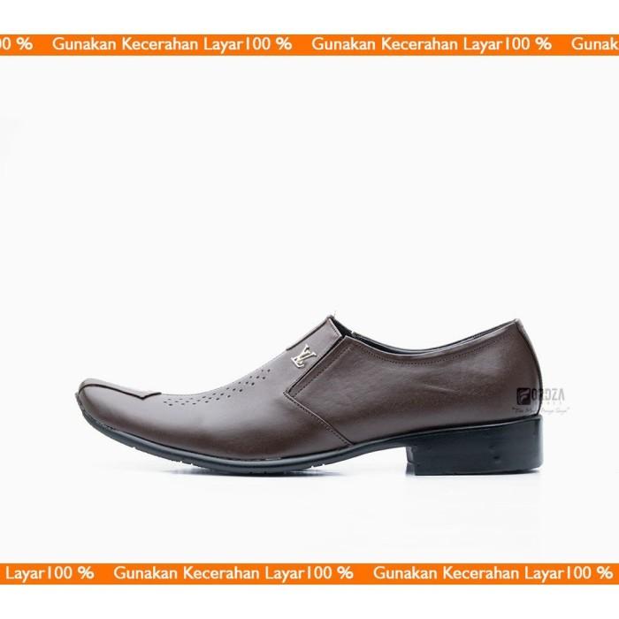 Sepatu Pantofel Pria Kulit Asli Berkualitas model Formal Best Seller