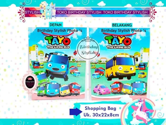Goodie Bag / Tas karton Snack Ulang Tahun / Bingkisan Ultah Bus Tayo