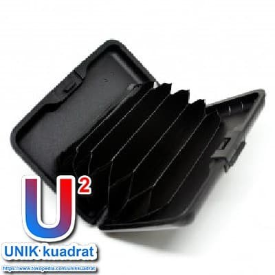 Jual Dompet Travel Anti RFID - Black - UNIK kuadrat   Tokopedia
