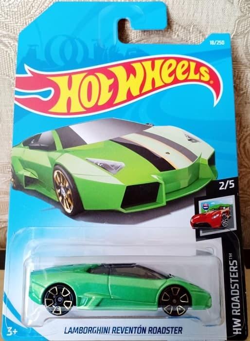 Jual Hot Wheels Lamborghini Reventon Roadster Green Original