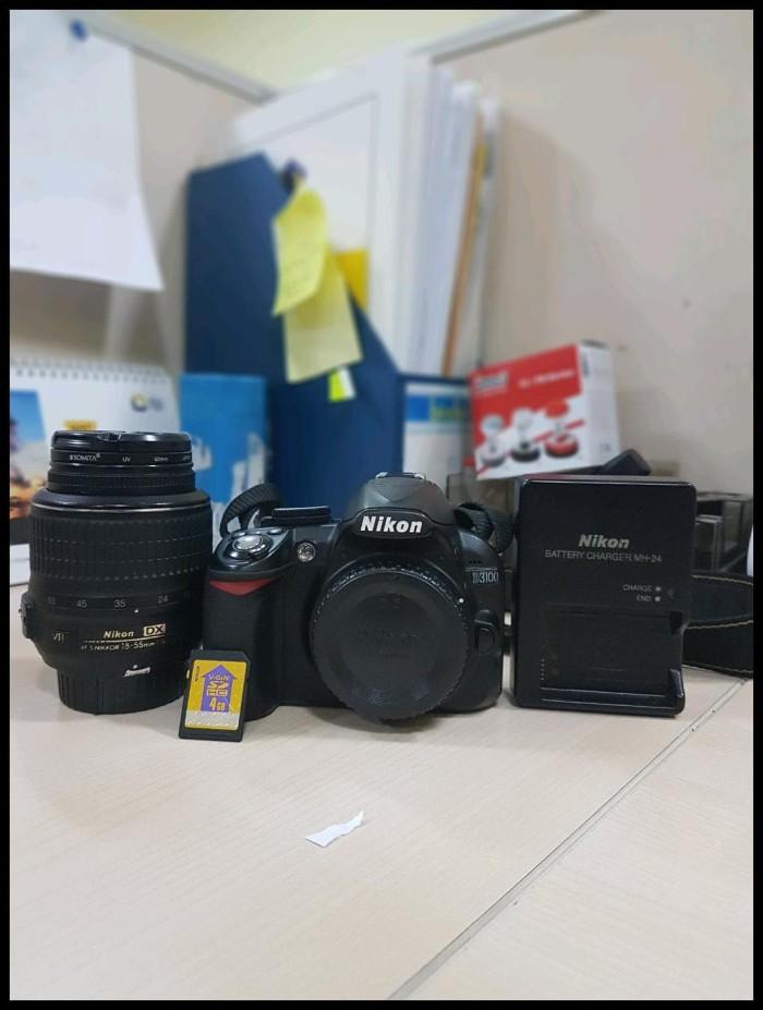 Jual Baru Kamera Dslr Nikon D3100 Dan Lensa Kit 18 55 Vr Dki Jakarta Ahmadroishadian10olshop Tokopedia