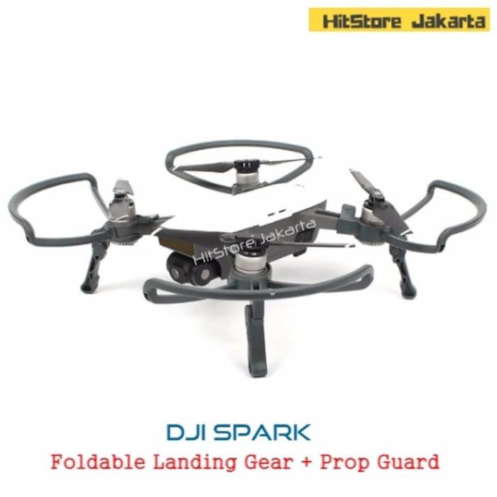 Jual DJI Spark Foldable Landing Gear Propeller Guard DJI Spark 2 in 1 Pro -  Jakarta Selatan - DYNASTY GLASS | Tokopedia