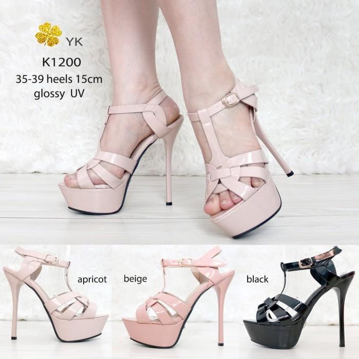 Jual YKshoes 1200 sepatu hak wanita