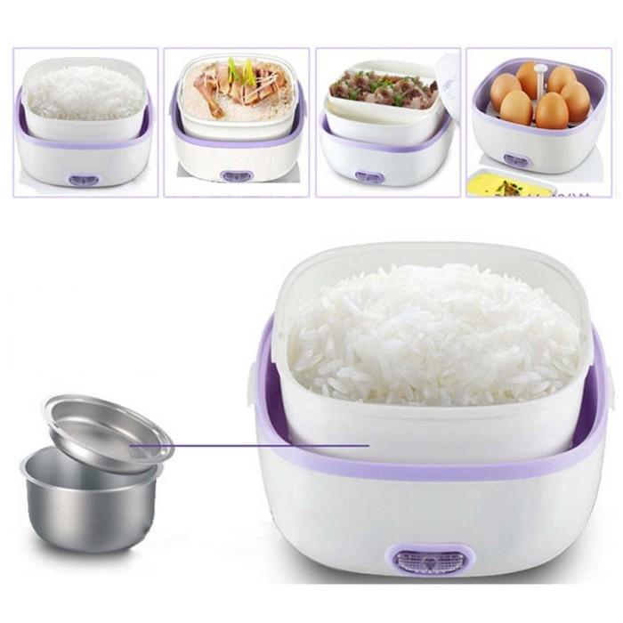 StarHome Rice Cooker Mini 2 Susun kapasitas 1 L Penanak Nasi Mini Eg