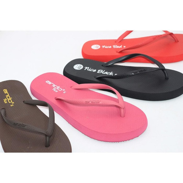Ando Sandal Jepit Wanita Nice Ladies Size 36 40