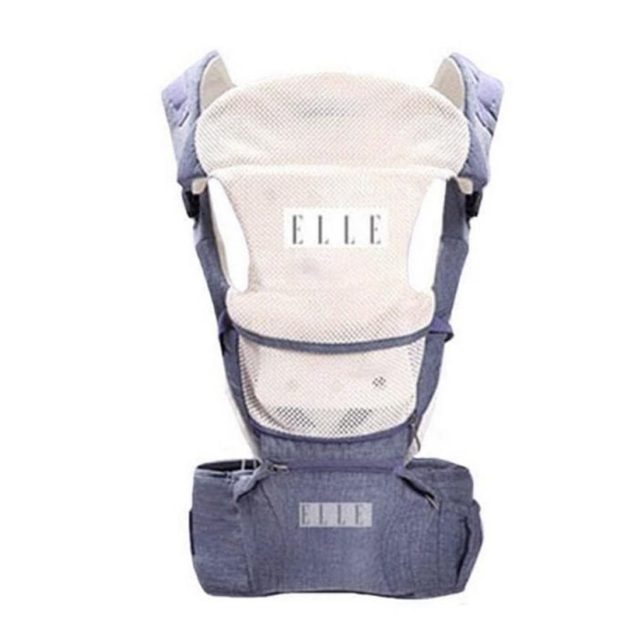 a2fce981b24 Jual Elle Ultimate 9 In 1 Hipseat Carrier Blue Grey Khaki Pink Baby ...