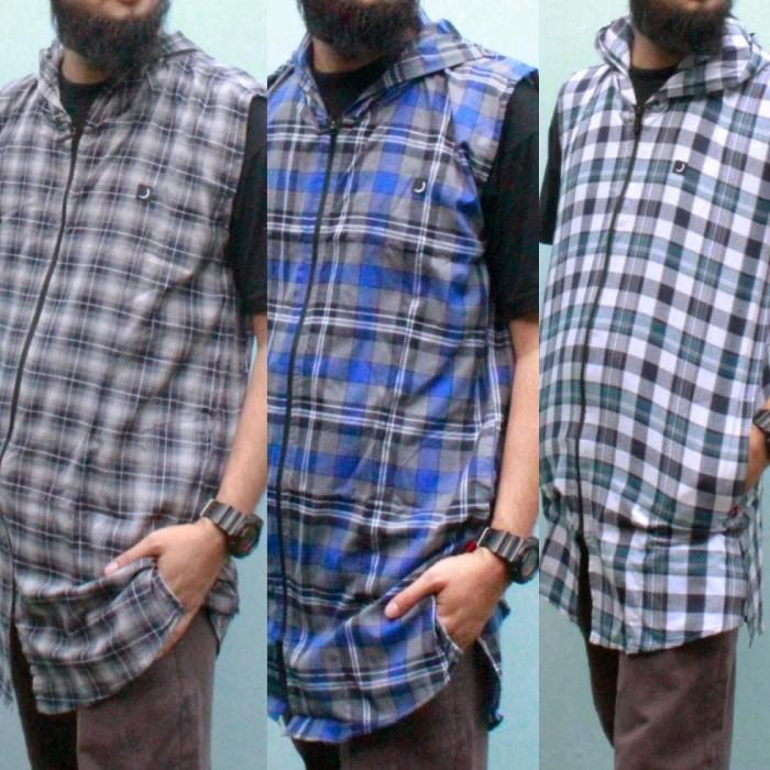 Baju Koko Gamis Pakistan Rompi Shalat Rosal Urbano Jumbo M - Xxxl