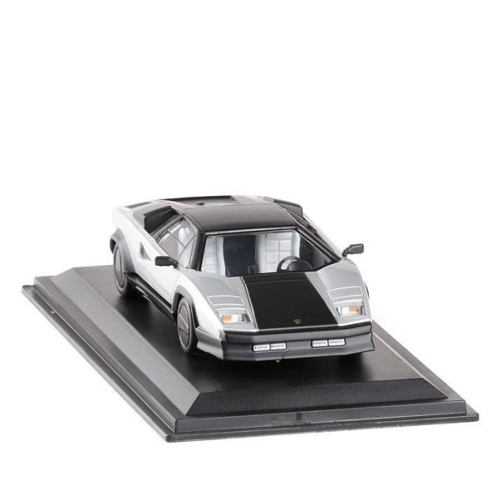 Jual Miniatur Diecast Mobil Lamborghini Countach Evoluzione 1987