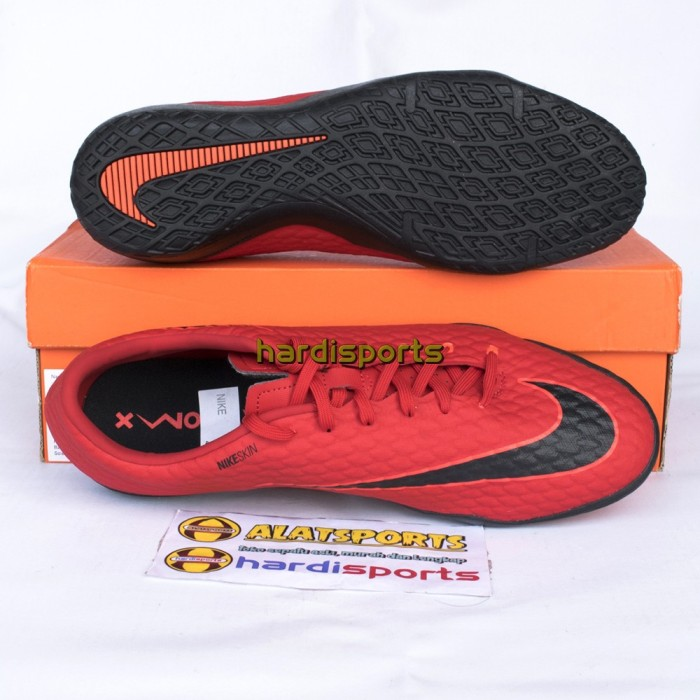 Jual Sepatu Futsal Pria Nike HypervenomX Phelon III IC 852563616 Red ... 5bf7a2f9a5