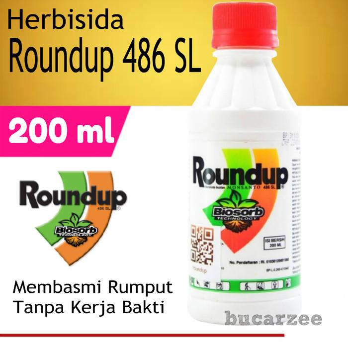 Pembasmi Rumput Roundup 486 SL - 200 ml