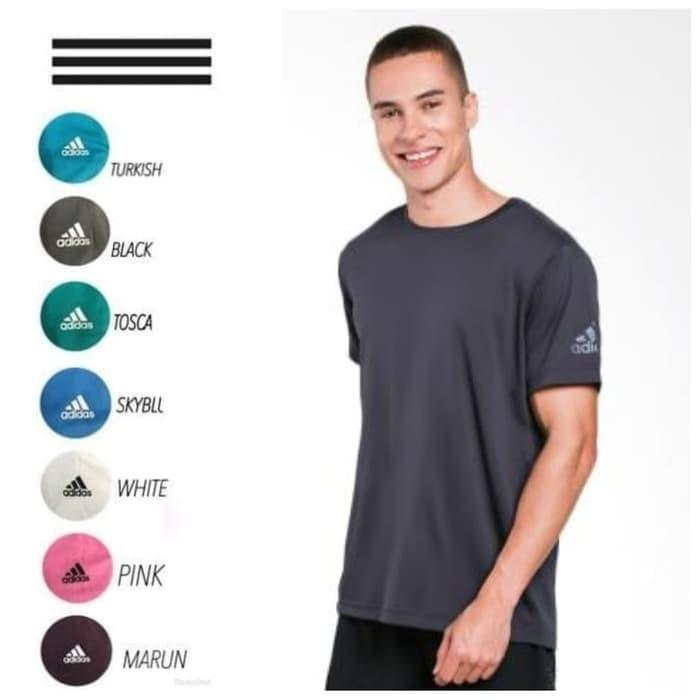 Foto Produk CLIMACHILL KAOS T-SHIRT RUNNING BAJU OLAHRAGA ADIDAS ALLSIZE dari importir jersey