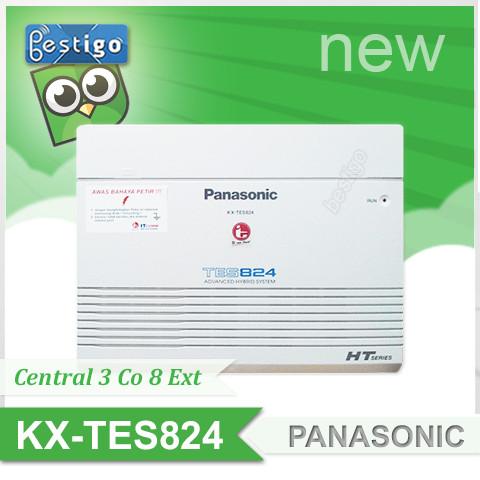 Foto Produk Central Pabx Panasonic KX-TES824 Kapasitas 3 Line 8 Extension dari BESTIGO
