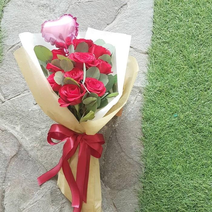Jual Valentine S Day Flower Bouquet Rose Bunga Valentine Buket Mawar Merah Jakarta Utara Flower Avenue Tokopedia