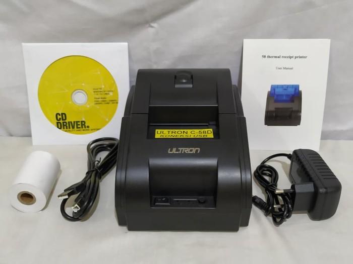 harga 58 mm thermal pos printer ultron cx-58d usb Tokopedia.com