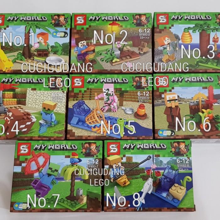 Murah 50 Daftar Harga Lego Minecraft Minicraft 2019 Terbaru