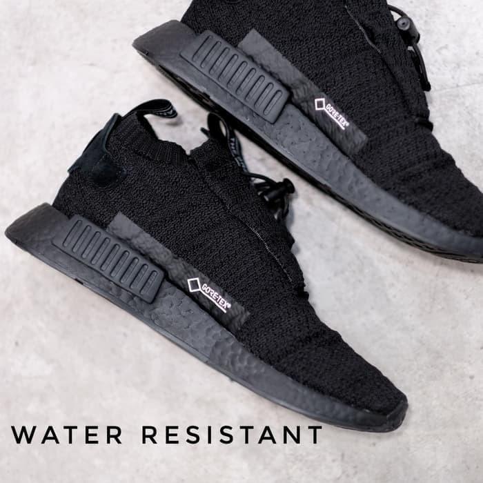 ae1c93aed61ab Jual New GORE TEX NMD TS1 Triple Black Waterproof Sneaker ...