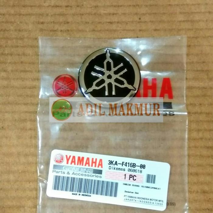 harga Emblem logo yamaha chrome tangki rx king new asli original yamaha