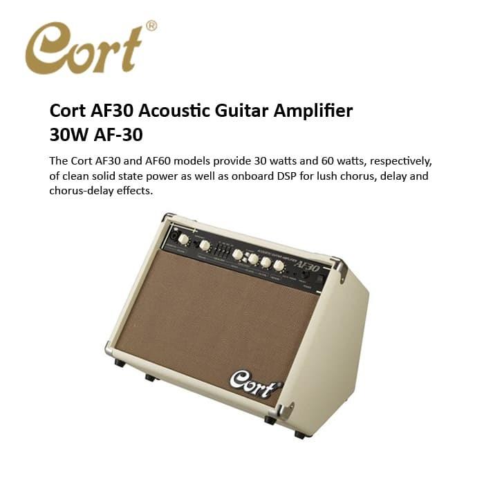 harga Cort af30 ampli gitar akustik 30w Tokopedia.com