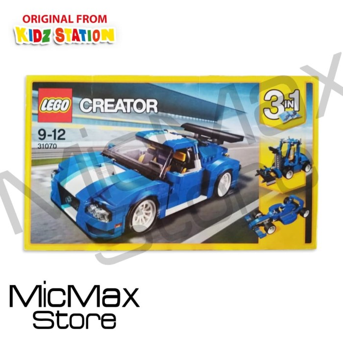 Jual Lego Creator 31070 Turbo Track Racer Dki Jakarta Micmax