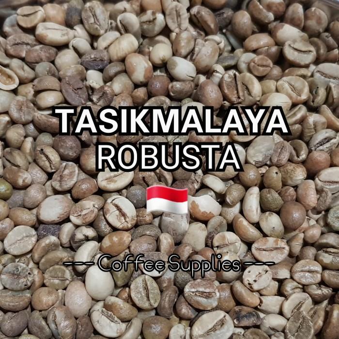 Tasikmalaya robusta java green bean raw coffee biji kopi mentah jawa