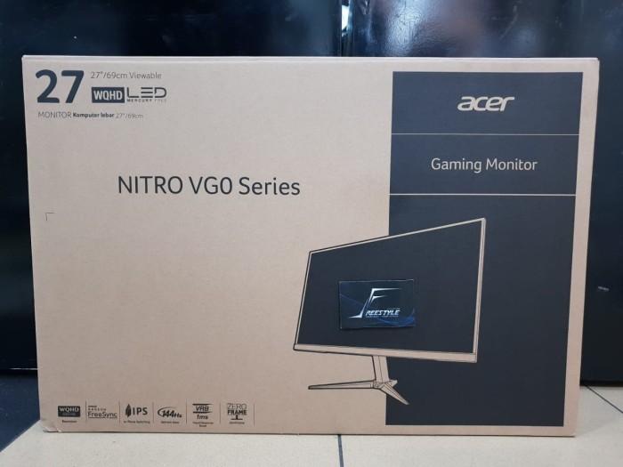 harga Acer nitro vg270u p freesync ips 27  2k 144 hz garansi resmi acer indo Tokopedia.com