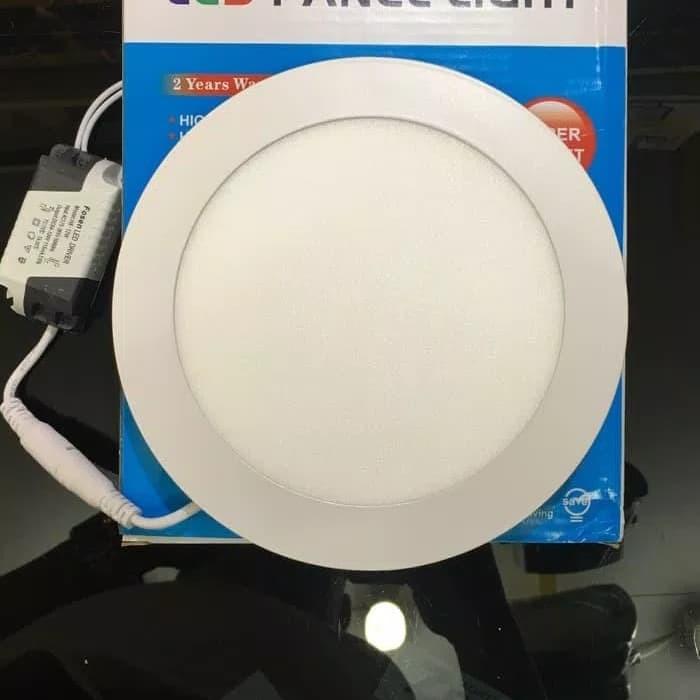 Lampu Led Panel Bulat Tipis 12 Watt