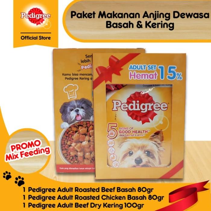 harga [paket promo] pedigree dewasa makanan anjing isi 1 pack Tokopedia.com