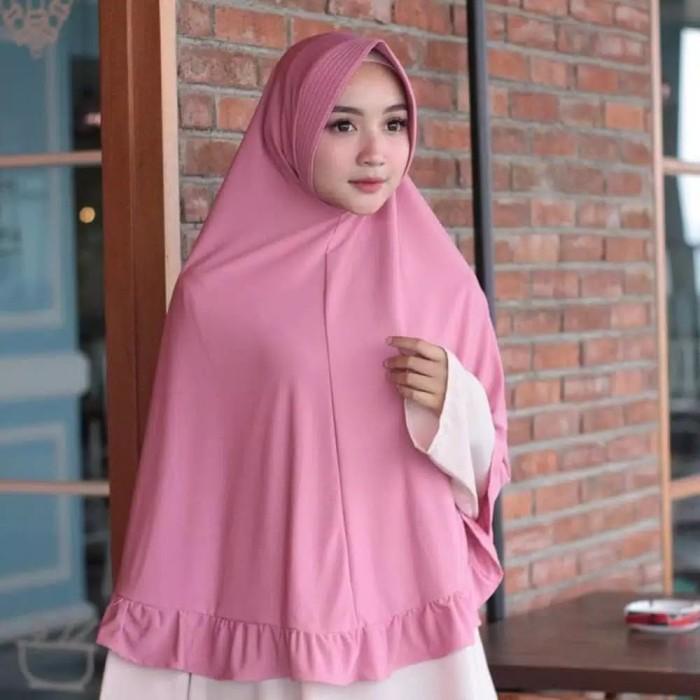 Foto Produk Hijab Jilbab bahan kaos kerut kriwil / jilbab pet kerut JBXL dari gudanghijabkaos