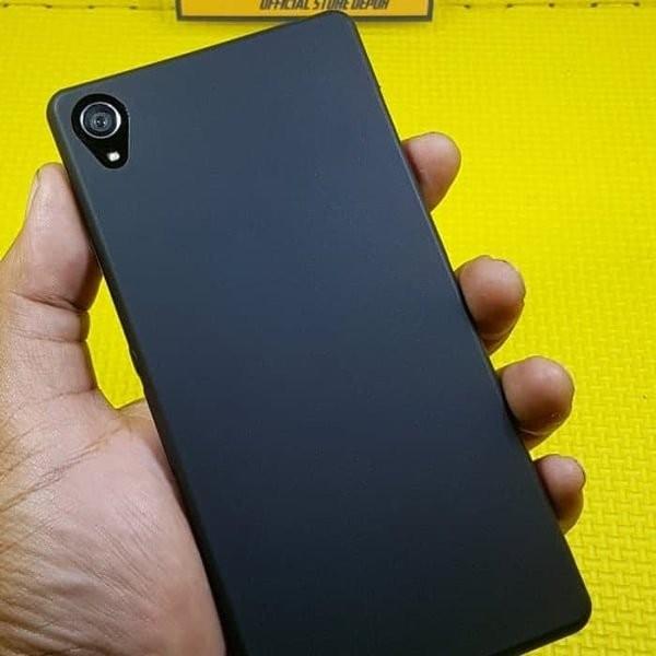 Case Sony Xperia Z3 Softcase Doff BLACK MATTE Sony Z3
