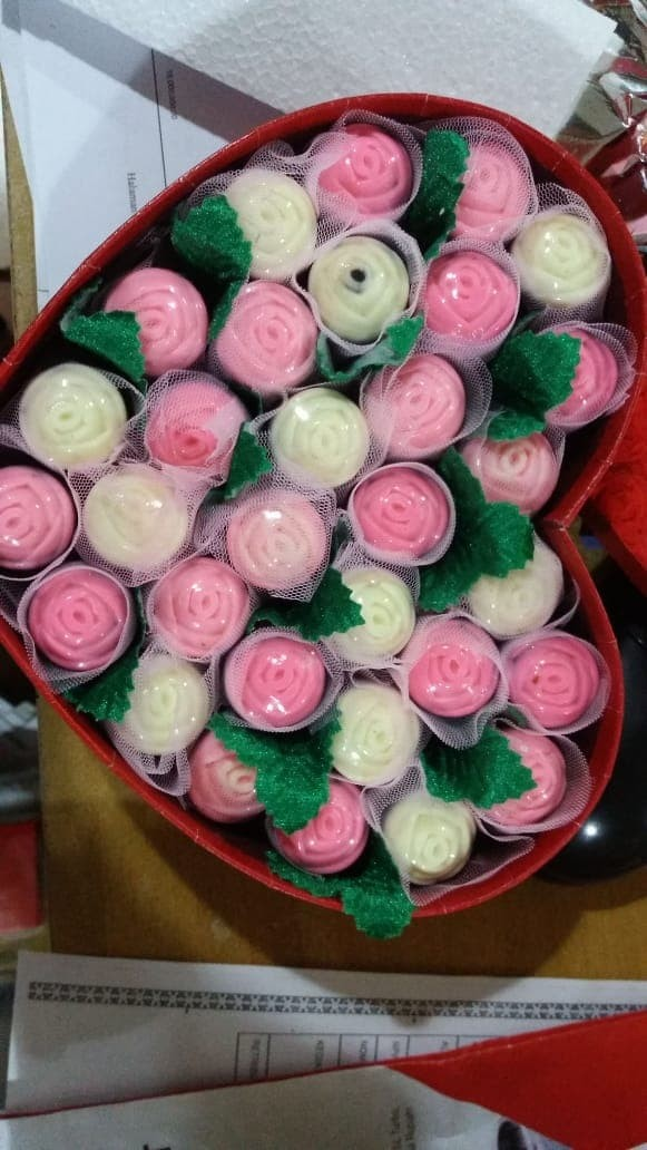 Jual Coklat Valentine Bunga Mawar Isi 30 Pcs Kotak Love Kota Medan Lin S Shop Tokopedia
