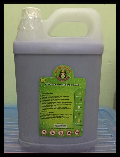 BIG SALE KARBOL SEREH KENTAL QUINN 5L !!!