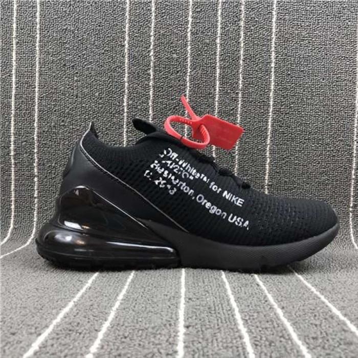 a594c3fe83 Jual Nike Resmi AIR MAX 270 X Off White Low Top Sepatu Lari - Putih ...