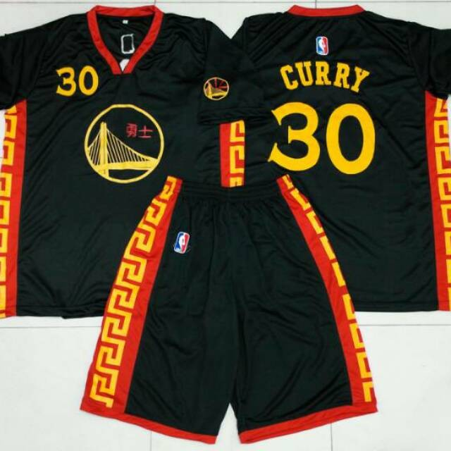 hot sale online 160f6 c33e3 Jual Jersey Basket Golden State Warriors ( Chinese New Year Edition ) JEJM  - Kota Surabaya - Jumper_Mart | Tokopedia
