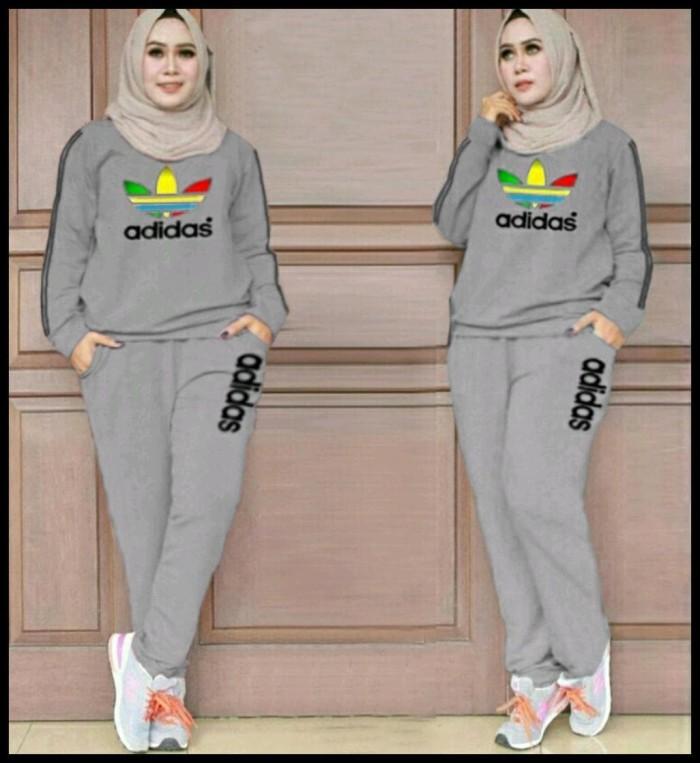 Hot Deal Setelan Wanita Setelan Baju Training Setelan Olahraga Dadas