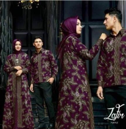 Jual Promo Baju Batik Couple Pesta Terbaru Keluarga Dress Pasangan ... 5add25d542