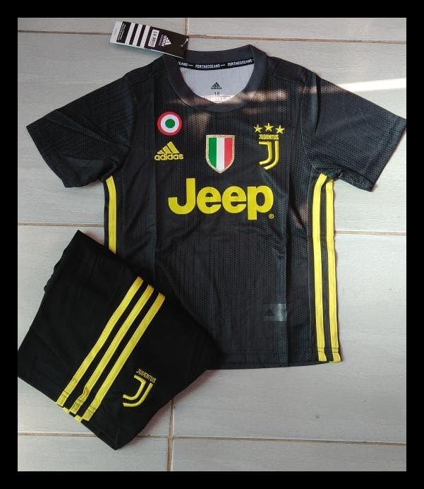 abeddf9fd Jual Baru Jersey Juventus 2018-2019 Anak Kids Home Dan 3Rd Termurah ...