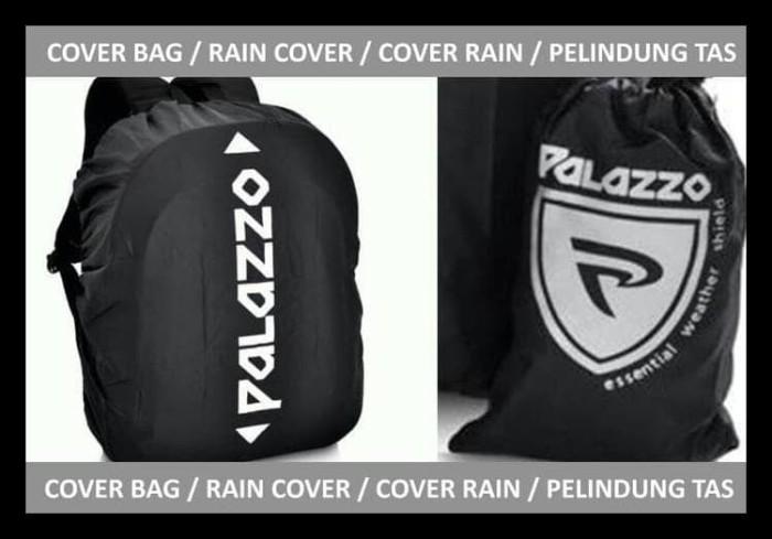 Baru Cover Bag Rain Cover Jas Hujan Tas Palazzo - Hitam Berkualitas
