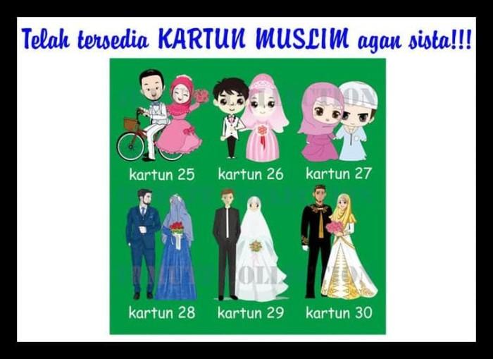 Gambar Kartun Muslimah Unik KHAZANAH ISLAM