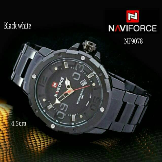 Jual Jam Tangan Pria Original Sporty Naviforce 9078 Series - cahaya ... 73ac7c8ff4