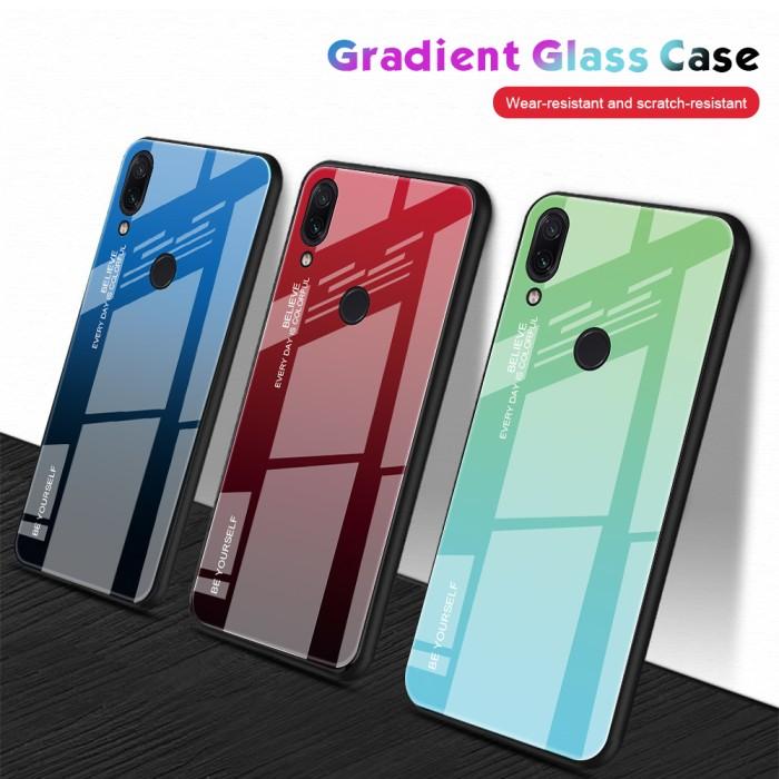 Jual Tempered Glass Case Untuk Xiaomi Redmi Note 7 Cover Case Untuk