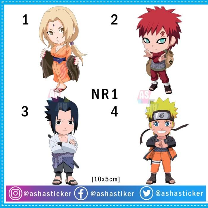 Jual Stiker Lucu Anime Naruto Chibi Kab Bogor Asha Sticker