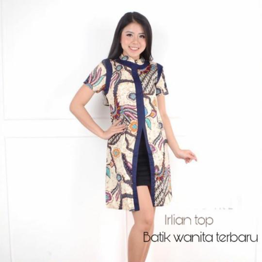 Jual Atasan Batik Wanita Modern Terbaru Blouse Batik Wanita Baju Batik Baru Dki Jakarta Batik Wanita Terbaru Tokopedia
