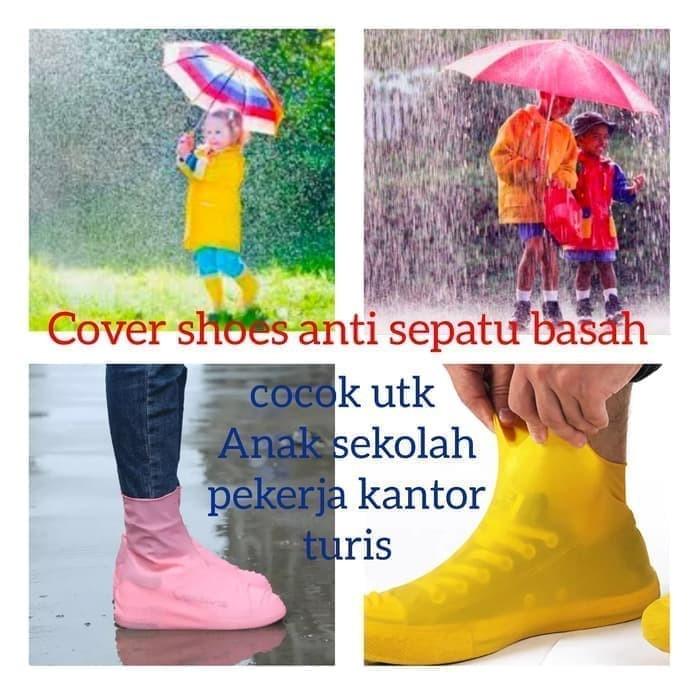 Foto Produk COVER SEPATU UPSET WATERPROOF/ PELINDUNG SEPATU ANTI AIR COS001MT dari buble blue acc