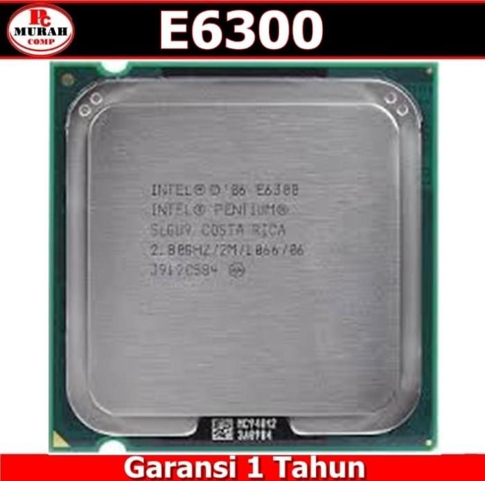 harga Processor intel pentium e6300 dual-core 2.8 ghz Tokopedia.com