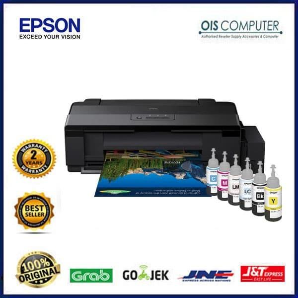 Jual Printer Epson L1800 A3 INK TANK INFUS : Epson L1800 (Print) original -  Jakarta Pusat - ORIGINAL IT SHOP | Tokopedia