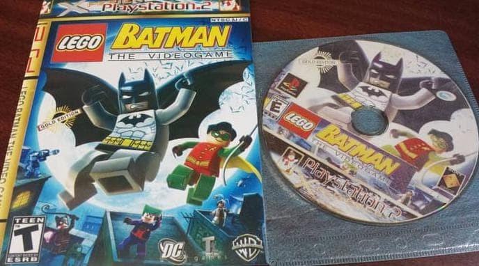 Jual New Kaset Playstation 2 Optik Lego Batman Limited