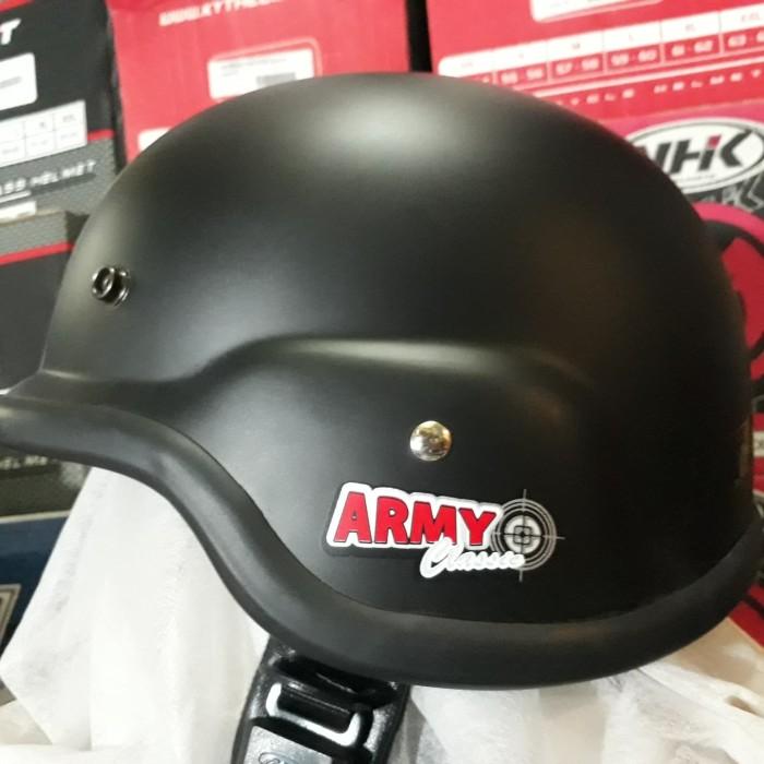 harga Helm army helm retro helm classic helm harley Tokopedia.com