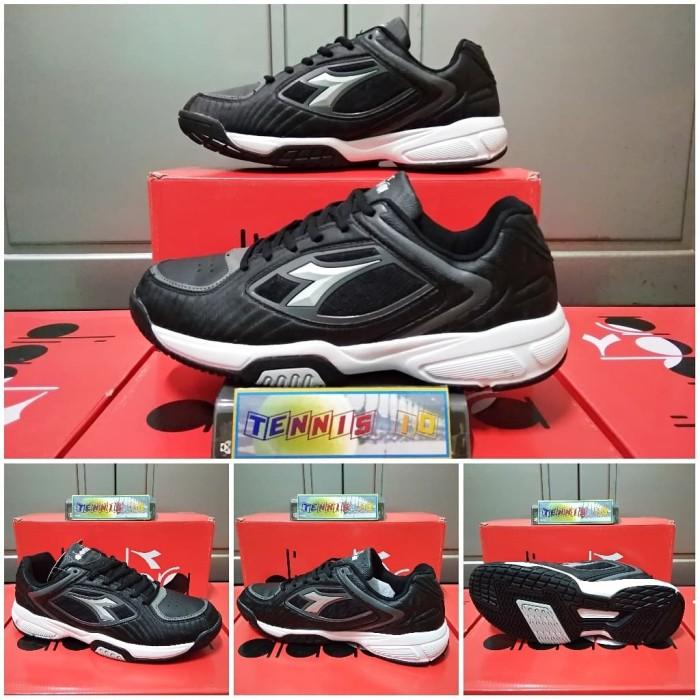 Harga Terbaru Sepatu Tenis Diadora Diate Jamming - Black Di Kab ... 49fe91f1f5