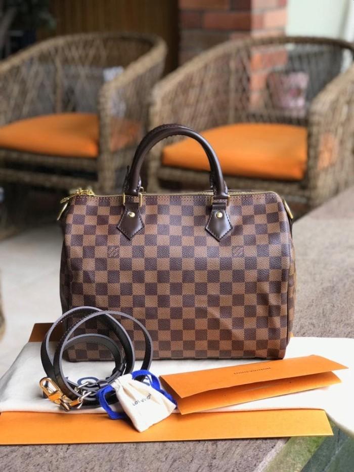 98c729a33a7e Jual Tas LV Louis Vuitton Speedy Bandouliere 30 Damier Asli   Ori ...
